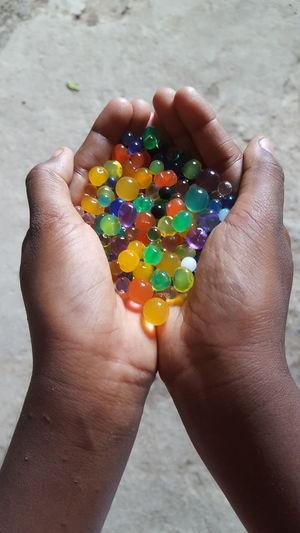 Rainbow bolls