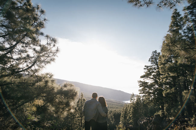 Beauty In Nature Canary Islands Couple Day Eye4photography  Forest Forest Photography Landscape Lifestyles Love Love Love ♥ Mountain Nature Outdoors People Scenics Sun Sunlight Sunset Sunset_collection Tenerife Tree Wedding Wedding Photography