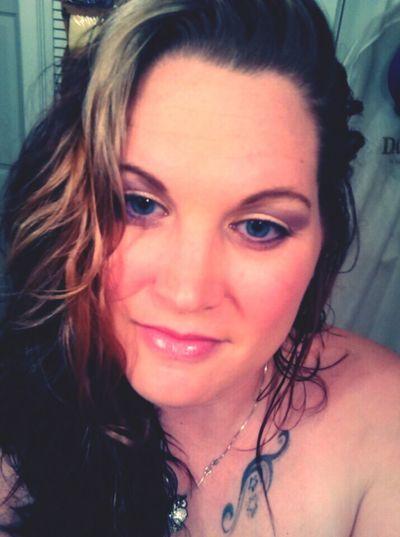 Portrait Close-up Headshot Beautiful Woman Makeup