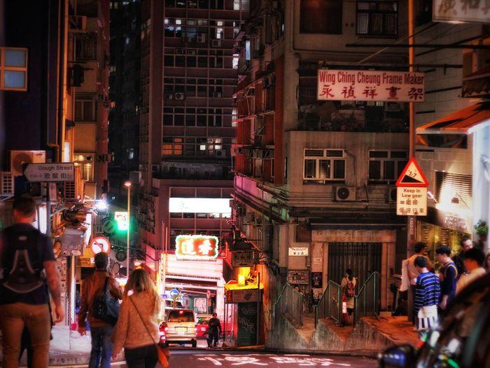 Illuminated Night Nightlife City Street City Travel Destinations Group Of People City Life Bar - Drink Establishment Women Cultures Store Men People Adults Only Large Group Of People Adult Neon Outdoors Crowd
