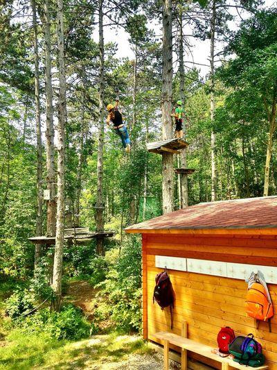 Enjoying Life Climbing Great Atmosphere Hanging Out