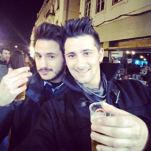 Que seja mais um ano rodeado de grandes amigos :) Primeiro Fino 2015  Cerveja Mais Cara Fodasse !