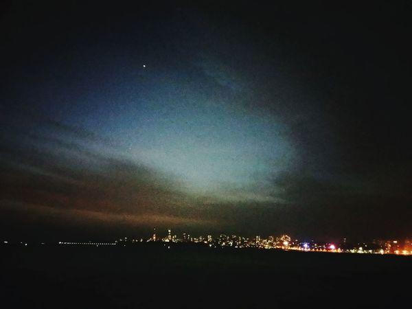 Beauty in the dark...nariman point mumbai