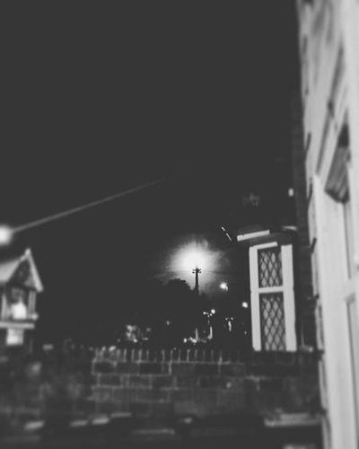 Full Moon!' Dark Creepy Lampost Streetlight Tree School Pub Church Fullmoon Bright Yellowmoon Bloodmoon Beautiful