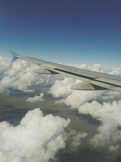 From An Airplane Window Garuda Indonesia Sky_collection Cloud_collection