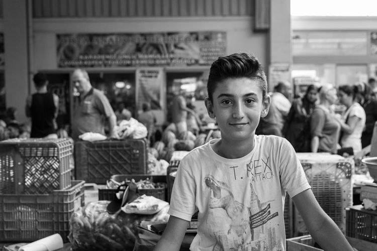 Real People Looking At Camera Portrait Food Food And Drink Focus On Foreground One Person Lifestyles Standing Smiling Indoors  Day Freshness Young Adult People Adult The Week On EyeEm