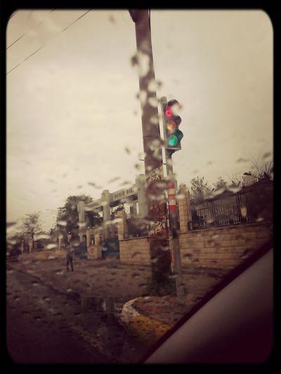 Traffic Lights all lights on lol:)