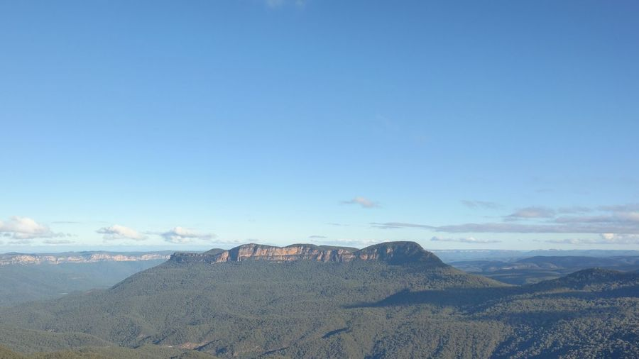 Katoomba Blue Mountains Sky And Clouds Nature Scenery No Edit/no Filter Traveling Sydney, Australia