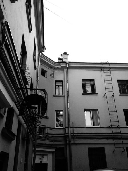 Moscow Architecture Building Monochrome