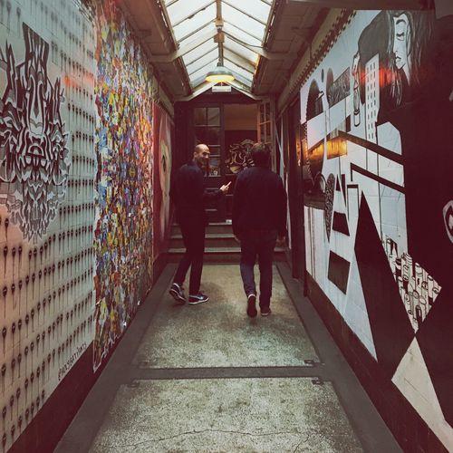 Tunnel Street Art Graffiti Pub East London