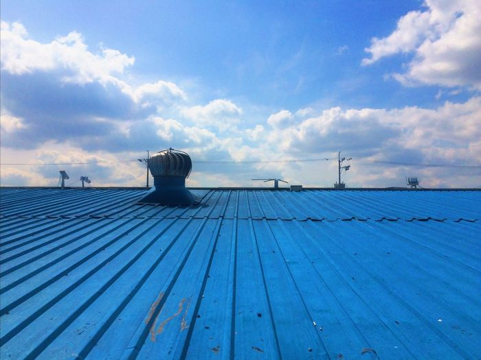 Blue Wave Kind Of Blue Blue Sky Blue Roof IPhoneography Iphone5s