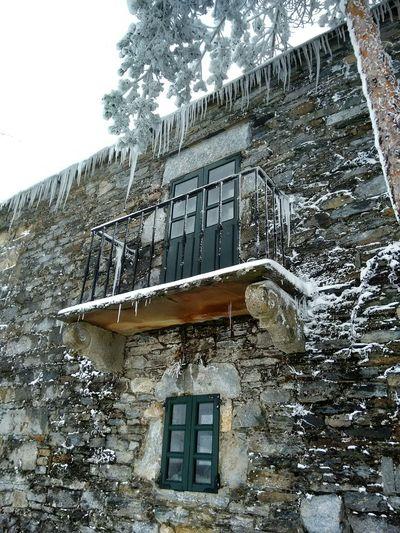 Deepfreeze O Cebreiro Snow Neve Galiza Inverno Balcon
