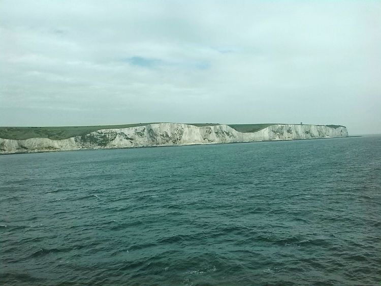 White Cliffs Of Dover Cliffs Seascape Cloud - Sky Nature Sky Scenics No People Day Outdoors Agriculture Beauty In Nature