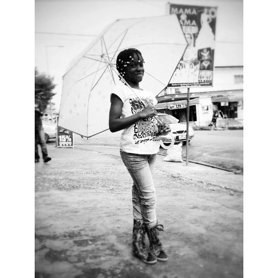 When the rains come again, Achiaa is covered. Ghana360 Ghana Kids Rains happy ©2014, @iamrobotboy