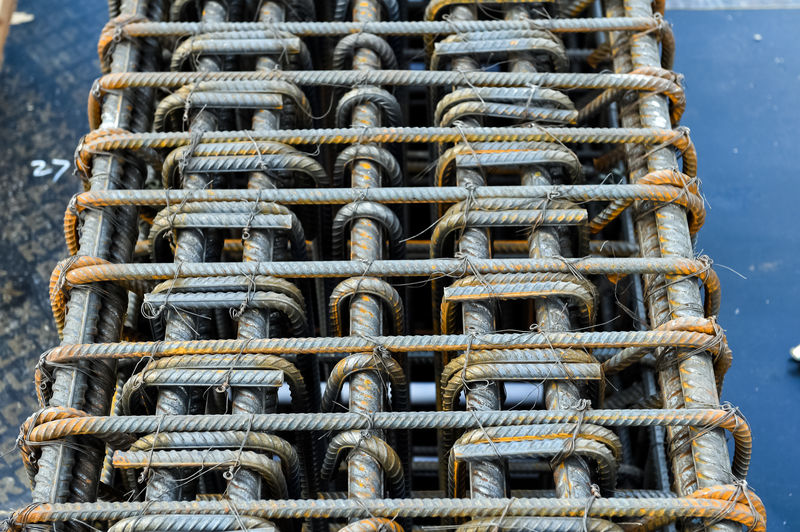 Bonded steel construction fittings. Bonded steel construction fittings. Day No People Metal Close-up Pattern Outdoors Rope Hanging Abundance Nature Still Life Yellow Large Group Of Objects Rolled Up Arrangement Rusty Strength Spiral In A Row Repetition Fishing Industry Bonded