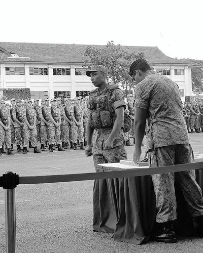 Bnwphotography Bnwsingapore Bnwstreetphotography Streetphotography Sg_streetphotography Basic Military Training Sembawang Camp Graduation Parade Passing Out Parade 7 Sept 2017 Singapore