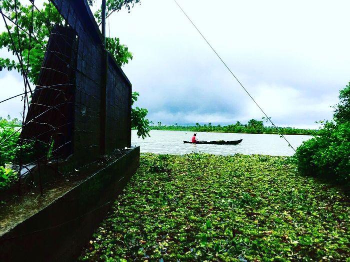 Hangout location Fishing Spot Beautiful Mansoon Riverside Life First Eyeem Photo