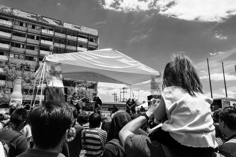 Real People Lifestyles Large Group Of People People Freedom Culture Rock'n'Roll Rock Life Plaza Juárez Guadalajara Jalisco Urbanphotography Urban Lifestyle Urban Poetry Real Life Sensation Electricity  Power Of Music Rock Festival Music Music Is My Life Music Festival