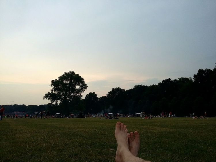 Relaxing in the Stadtpark. · Hamburg Germany 040 Stadtpark Hamburg Park Public Park Public Place People Chilling Feet Summer Day Green Nature Excellent 👌