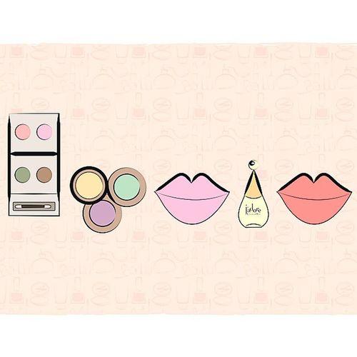 And with Makeup tools ☺ Hanin Name Illustration vectors colors graphicdesign art colors blablabla Sorry ma fye ma enjele2 kel ma a3ml shi ??