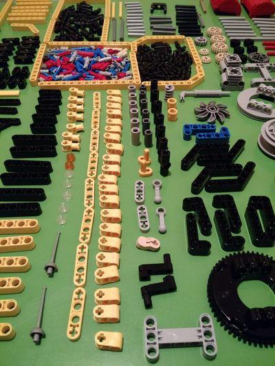 Legophotography Multi Colored LegoTechnic
