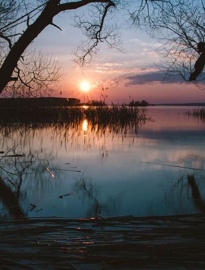 Minsk sea Beauty In Nature Clouds Clouds And Sky Cloudscape Day Idyllic Lake Landscape Mirrow Nature No People Outdoors Reflection Scenics Sky Sun Sunset Sunset #sun #clouds #skylovers #sky #nature #beautifulinnature #naturalbeauty #photography #landscape Sunset_collection Tranquil Scene Tranquility Travel Destinations Tree Water