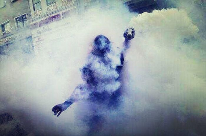 Taksim Istanbul #turkiye Teargas