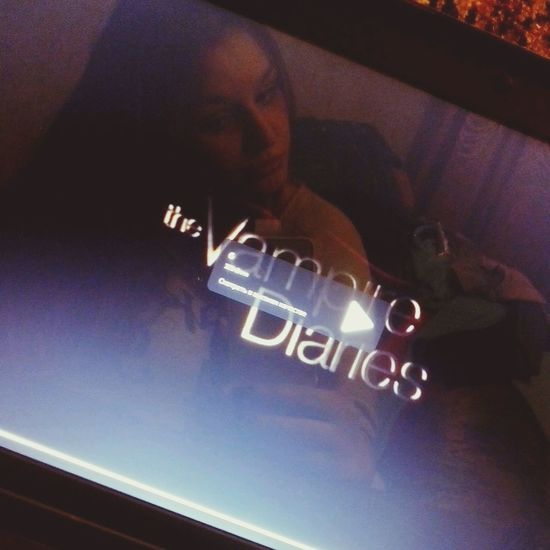 The Vampire Diaries Tvd <3 That's Me Night Photography