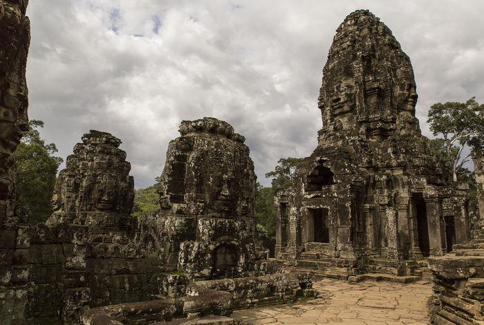 Bayon Face In Stone Stone Angkor Forgotten Ruins Khmer Old Travel Architecture Temple Cambodia Ancient Siem Reap Angkor Wat Lost Civilization ASIA Culture Tourism