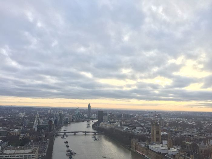 River Themse River Themes River View Sunset London