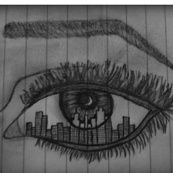 My Work Eye ,I Love It ❤ Art