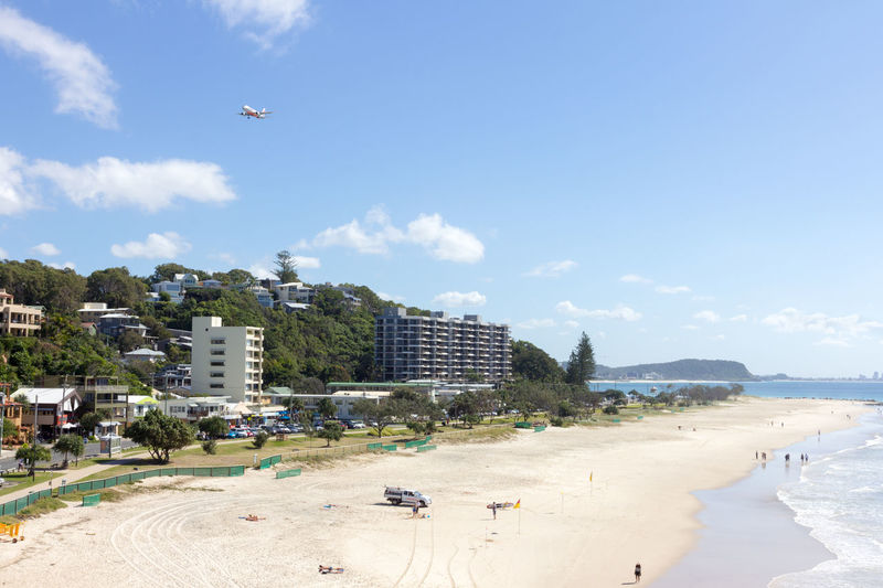 Currumbin Queensland Apartments Australia Beach Beautiful Blue Car Coast Day Flying Gold Coast Grass Landing Ocean People Plane Sand Sea Sky Summer Sunny