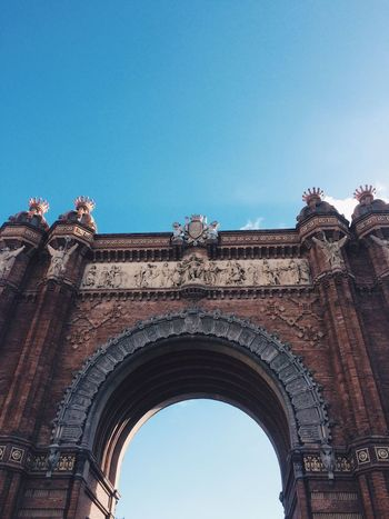 Arc de Triomf🎗 Arch Architecture History Triumphal Arch Arcdetriomf Arcdetriomphe Architecture_collection