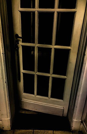 Creepy Door Alley Obscure Waitingroom