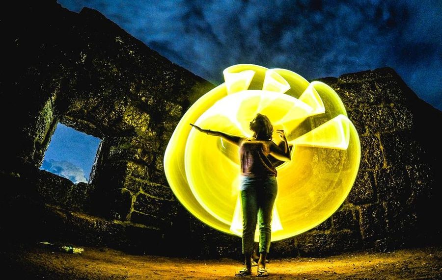 Fortress Yellow Outdoors People Nature Day Close-up Sky Fortress Of Stone Fortress Beside The Sea Fort Goa ❤❤ Goadiaries Light Painting Illuminated Newlife💛 EyEmNewHere Long Exposure Lightexperiment Lightpainting Ericpare Lightroom Edit Architecture Goprohero4 Gopromoment