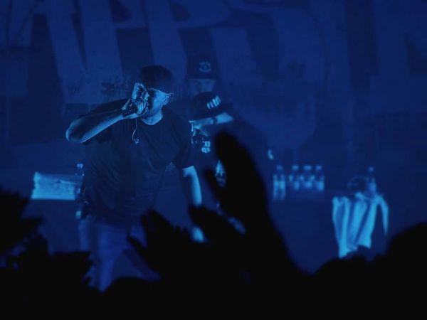 Kool Savas auf Warum Rappst Du Tour 2 - Tourstart in Münster Live Music Koolsavas Laasunltd Live Rapper Rap Hamburg Music