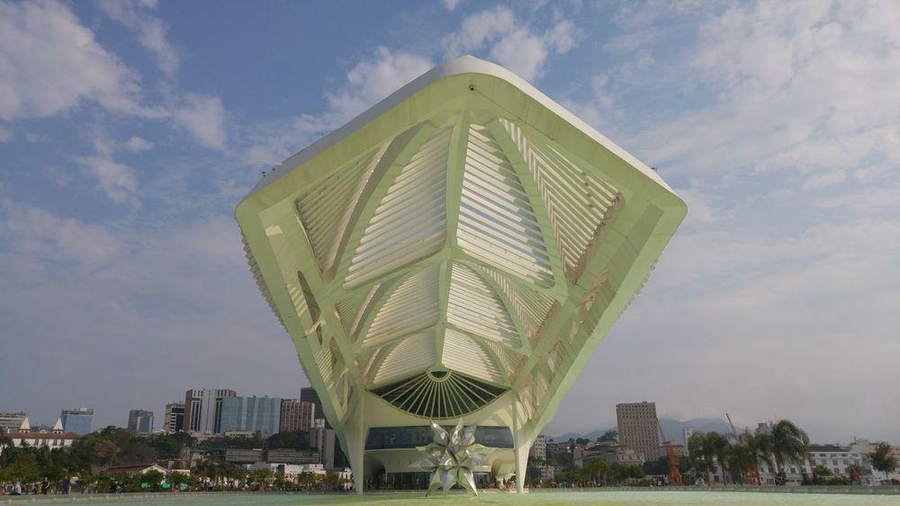 #RiodeJaneiro #calatrava #nofilter#noedit #Vacation #sunnyday Architecture Modern Skyscraper City Urban Skyline Cityscape Building Exterior No People