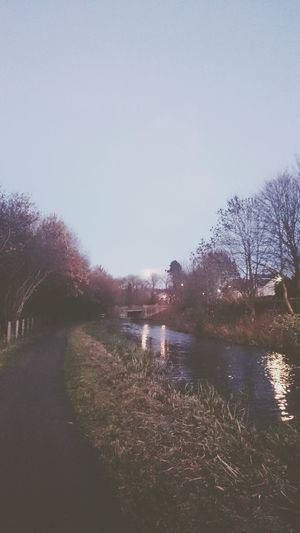 Showcase: December Canal Scotland Walking Path Beautiful Nature Winter Perspective April 2016 Water Wide Angle Photography Blue Sky Beautiful Contrast Colors Light And Shadow Sunset Emotion Perspectives Linlithgow Nature Wintertime Christmastime Beautiful Day Sunset_collection