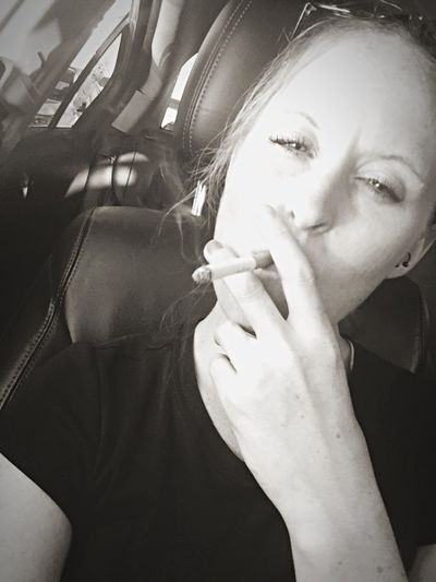 Coffee And Cigarettes Thats Me ♥ Selfie ♥ Badhabits On A Break Workingonthenightmoves