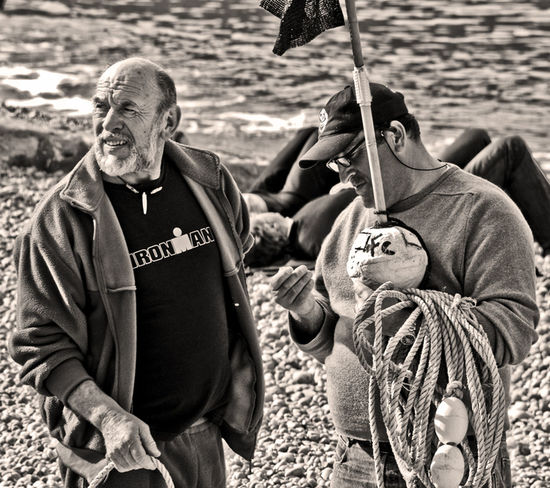 Ironman & Co, fishermen Scène De Vie Portrait EyeEm Best Shots - People + Portrait Bnw