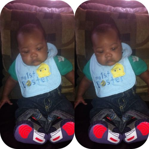 His 1st Easter