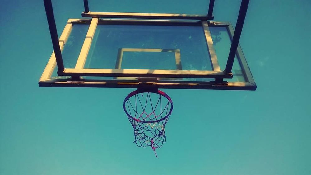 Basketball Hoops Basketball Net  Sports Sports Photography Hoop Session Showcase April Blue Wave The Street Photographer - 2017 EyeEm Awards Live For The Story