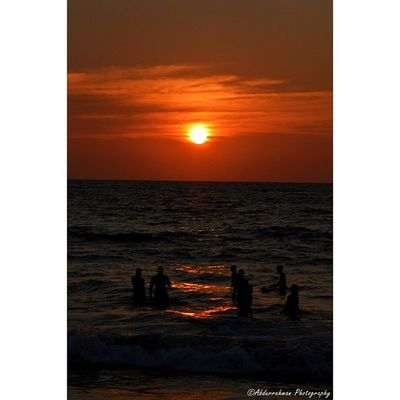 Sunset at Mount Beach Abdurrahmanphotography Sunset Mountlavinia SriLanka