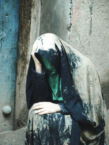 Ashura Mourning Ritual Mud Mud Religious  Ashura Real People Lifestyles Women