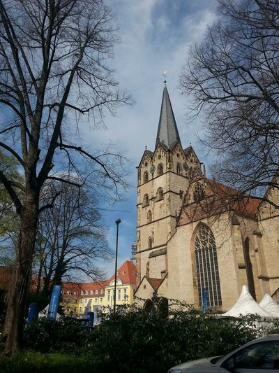 """Church """"Muensterkirche"""" in Herford Germany City Buildings Architecture Cityscape"""