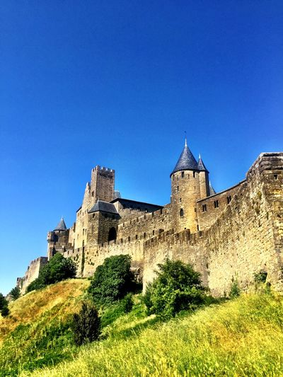 France Carcassonne ancient city Castle