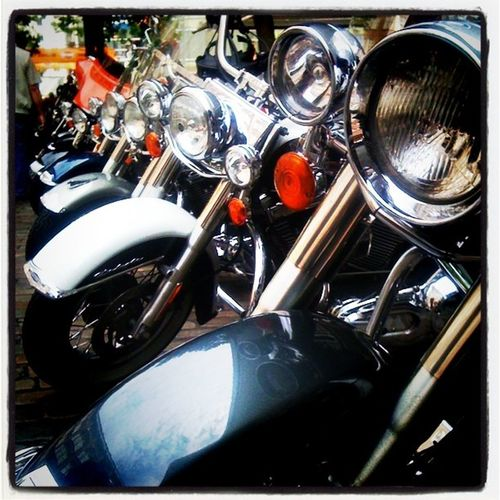 Choppergucken auf den #Harleydays #Hamburg Hamburg Harleydays