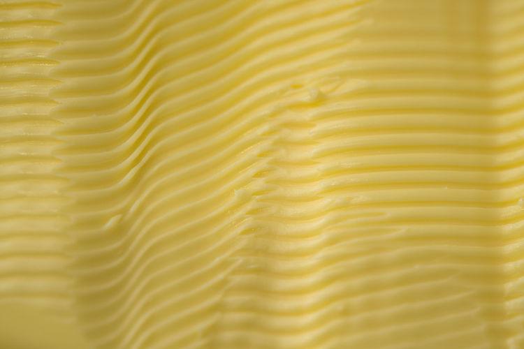 Full frame shot of yellow bread