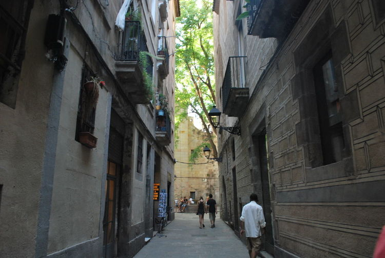 Adult Adults Only Architecture Barcelona Barcelona, Spain Building Building Exterior Buildings Built Structure Catalonia Catalunya City Day Lifestyles Men Outdoors People Real People SPAIN Street Street Photography Streetphotography The Way Forward Walking Women