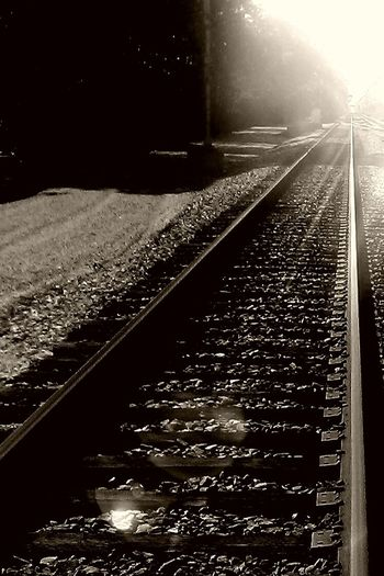 Tracks of our life Outside Summerthoughts Wooden Photographic Memory Focus Mylens Itsnotthecamera Photography Inthecity  Bw Photo Capture Lifestrain 757photography Downtheline Myeye